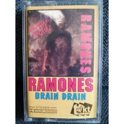 "RAMONES ""Brain Drain"" CASS"
