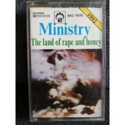 """MINISTRY """"The Land Of Rape And Honey"""" CASS"""