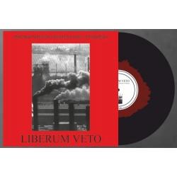 """LIBERUM VETO """"Zbrodnia Przeciwko..."""" Red In Black LP"""