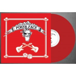 POKER FACE S/T red LP