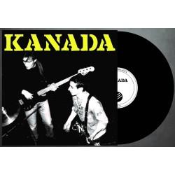 """KANADA """"Kanada"""" black LP"""